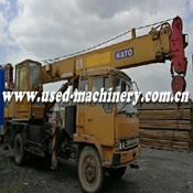 Used KATO NK110H crane for Sale