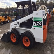 Used Skid Steer Loader - Bobcat 753F for Sale in Good Condition