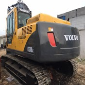 2013 Used Volvo Excavator E210B for Sale