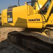 2013 Used Komatsu Excavator PC200-7 for Sale