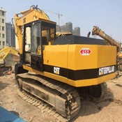 Used Caterpillar Excavator 2000 E200B 20 Ton with breaker line for Sale