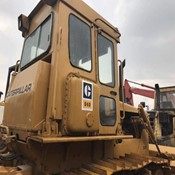 used Caterpillar crawler bulldozer D6D