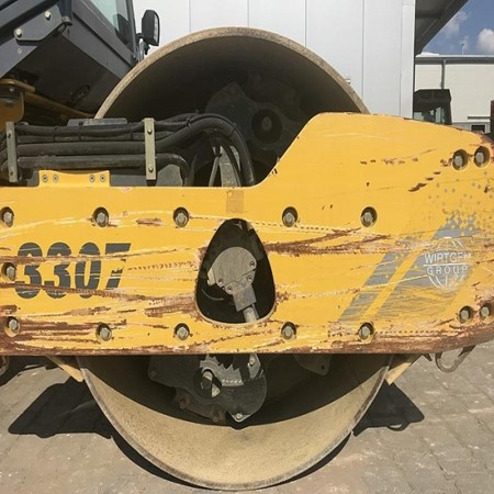 Used Hamm 3307 HT Single Drum Roller for Sale