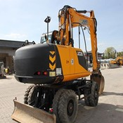 Used JCB JS 175 W mit OilQuick 70/55 Mobile excavator - 2012 Year for Sale