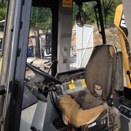 Used CATERPILLAR 428B loader Backhoe for sale