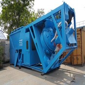 1- Unit of Used & Refurbished M 1 STETTER Mobile Concrete Batching Plant for Sale