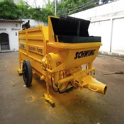 Used & Refurbished Stationary Concrete Pump - SCHWING BP 550HD-18 for Sale