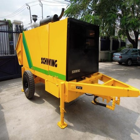 Used & Refurbished SCHWING Stationary Concrete Pump BP 2000HDR-20