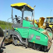 Used Vogele S 1900-2 ERGOPLUS Paver – 2008 Year in Perfect Condition for Sale
