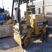 Used CATERPILLAR CB-224C Smooth Drum Compactor for Sale