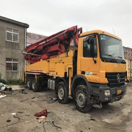 Used Putzmeister 46M concrete Pump for Sale,Yangs Machinery