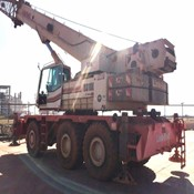 Used Rough Terrain Crane - Link-Belt RTC-80100 II for Sale