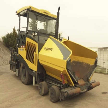 Used BF 800 P S500 Paver– BOMAG for Sale