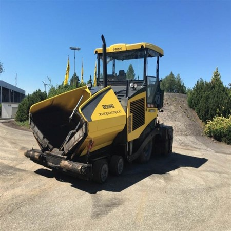 Used BF 800 P S600 Paver – BOMAG for Sale