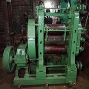 Calendar machine three roll  v- belt drive for Sale