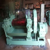 "Rubber Mixing Mill (14"" X 36"") V-Belt Drive for Sale"