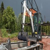 New E25 Compact Excavator – Bobcat for Sale