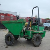 Used BENFORD DT030S Site Dumper 2007 Year in Good Condition for sale