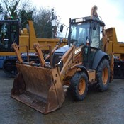 Used CASE 580 SR Backhoe Loader - 2008 Year, 6048 Hrs for Sale