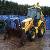 Used 2014 NEW HOLLAND LB110 Backhoe Loader for Sale