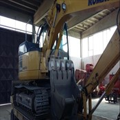Used PC138 Crawler Excavator – Komatsu for Sale
