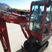 Used Yanmar B15-3 Mini Crawler Excavator for Sale