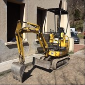 Used Mini Crawler Excavator PC15 – Komatsu for Sale