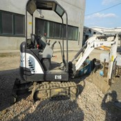 Used E16 Mini Crawler Excavator – Bobcat for Sale