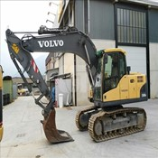 Volvo – 2008 – EC160 Used Mini Crawler Excavator for Sale