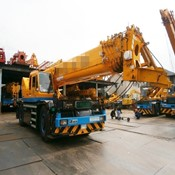 51 ton KATO KR50H-L2 Used Rough Terrain Crane for Sale