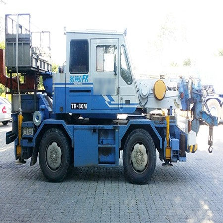 8ton TADANO TR80M Used Rough Terrain Crane for Sale