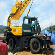 Used Rough Terrain Crane KOBELCO RK160-2 for Sale