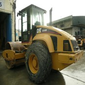 2006 Caterpillar CS-563E - SMOOTH DRUM VIBRATORY USED COMPACTOR for Sale
