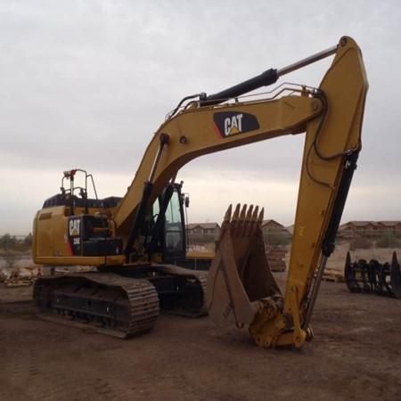 Used Crawler Excavator 336EL HYB Caterpillar For Sale