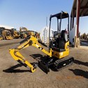 Used 301.7DCROR Mini Crawler Excavator – Caterpillar for Sale