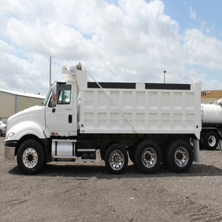 Used INTERNATIONAL PRO-STAR PREMIUM Tri-Axle Steel Dump Truck for sale