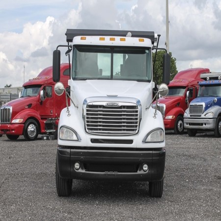 Used FREIGHTLINER COLUMBIA Roll-Off Truck for sale