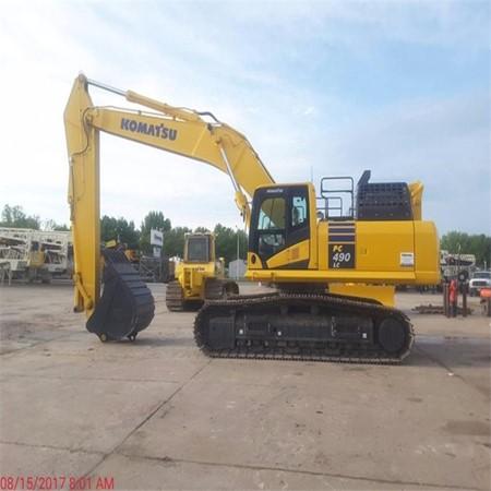 Used Komatsu PC490LC-11 Hydraulic Excavator for Sale,General