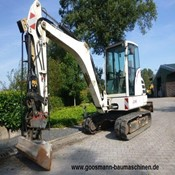 Used Terex Mini Crawler Excavator – TC 48 for Sale