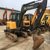 Used Volvo EC60E Compact Excavator for sale