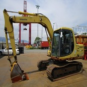 Used Komatsu PC100N-6 Crawler Excavator for Sale