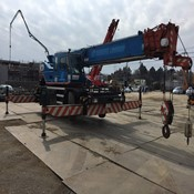Used KATO KR-25H-V5 Rough Terrain Crane for Sale