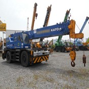 Used KATO KR-35H-V Rough Terrain Crane for Sale