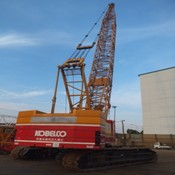 Used KOBELCO 7150 Crawler Crane for sale