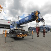 Used Tadano GR-250N-1 Rough Terrain Crane for Sale