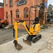 Used JCB Micro excavator – Year 2014 with 3 Buckets for Sale