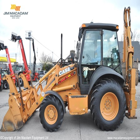 Used Backhoe Loader 580 Super R Backhoe Loader Case For Sale Jim Macadam Equipment Ltd An Ros Ireland