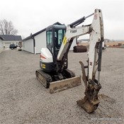 Used BOBCAT E35 Mini Crawler Excavator for Sale