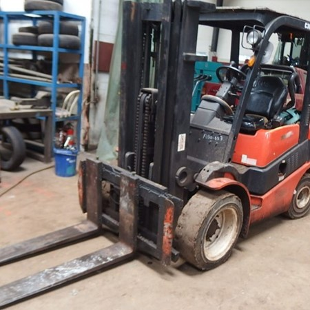 Used CLARK C30D FORKLIFT for Sale