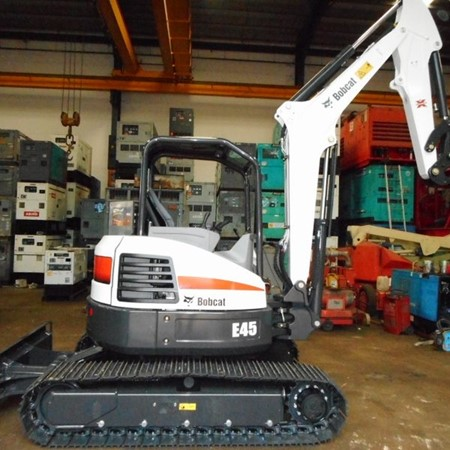 New BOBCAT E45 Mini Excavator for Sale